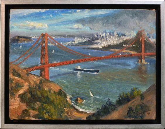 Golden Gate Bridge by Patricia Melvin