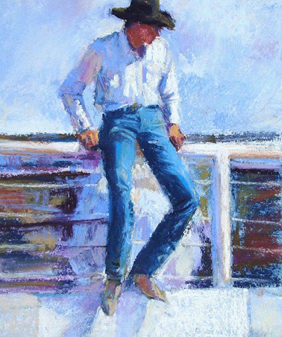 Lanky Cowboy by Trish Stevenson