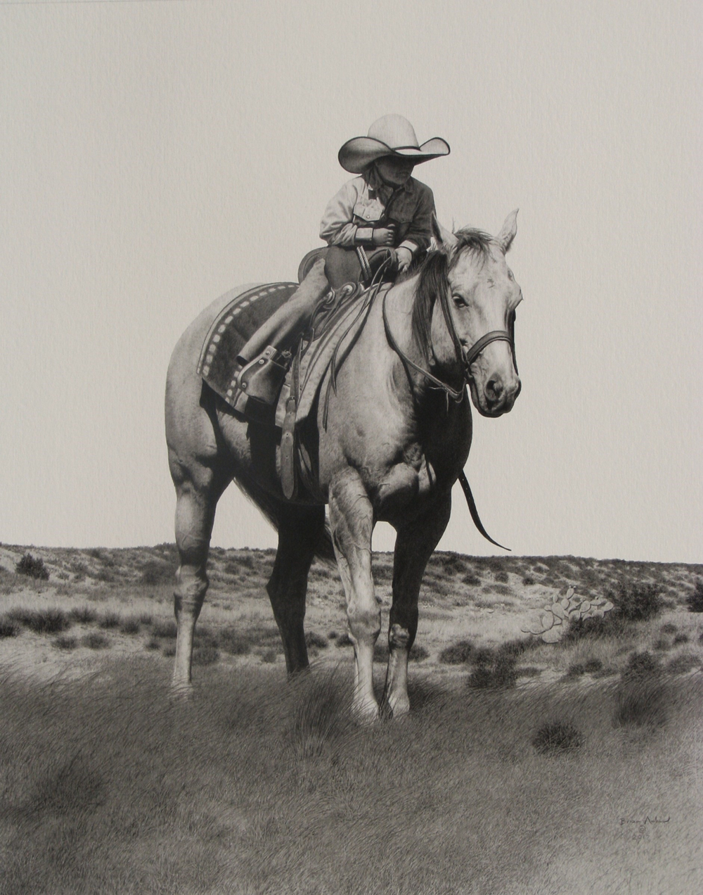 Littlest Cowboy by Brian Asher