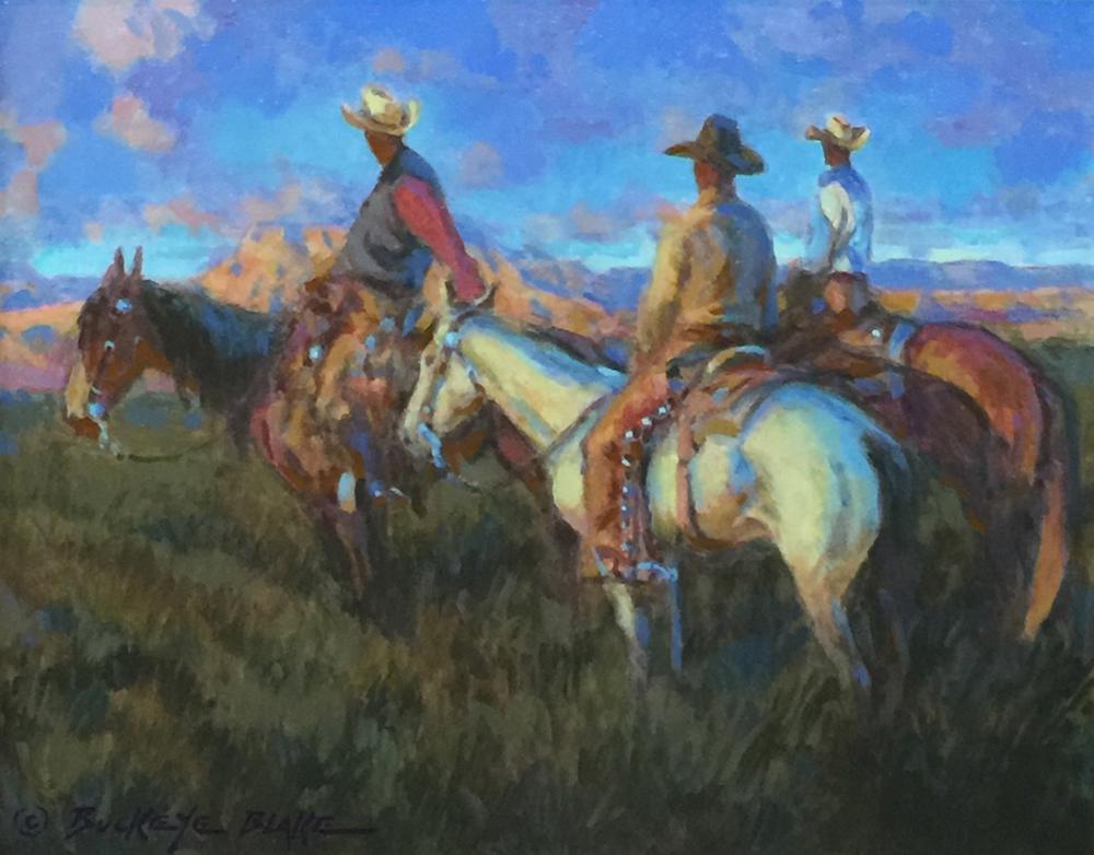 Fire on the Mountain by Buckeye Blake