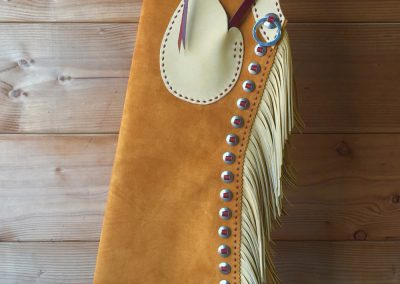 Texas Bell Chaps by Franco X. Trevino – SOLD
