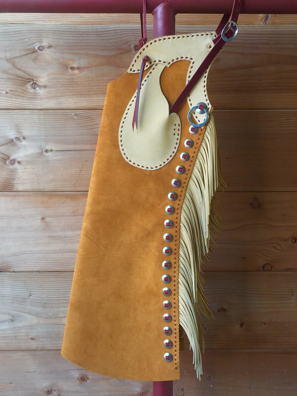 Texas Bell Chaps by Franco X. Trevino