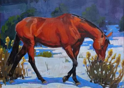 Winter Bay by Lauren Pomatto – SOLD
