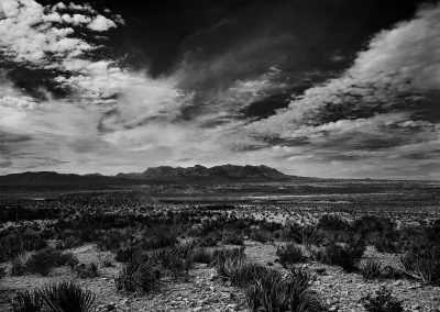 Chisos from the Old Ore Road