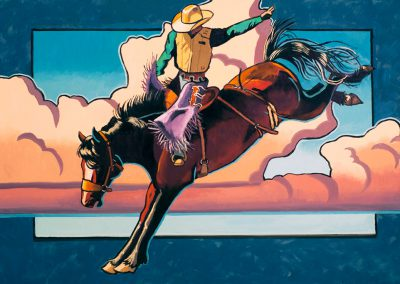 Rider In the Sky by Janet Broussard – SOLD