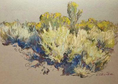 Sagebrush and Rabbit Brush by Chessney Sevier – SOLD