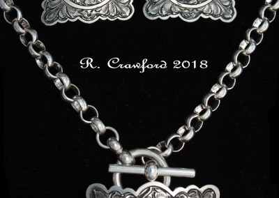 Scalloped Square Set byRex Crawford – SOLD