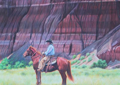 Springtime in Cita Canyonby K. W. Whitley – SOLD
