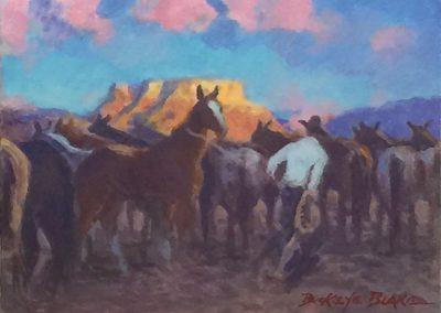 Round-Up at Yellow Rock by Buckeye Blake