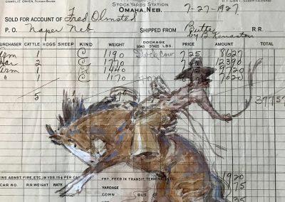 Ledger 2 by Teal Blake – SOLD