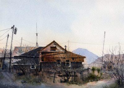 Terlingua Trading Post Vista by Tim Oliver