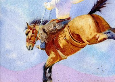 Ridin' High & Livin' Free by Valerie Coe – SOLD