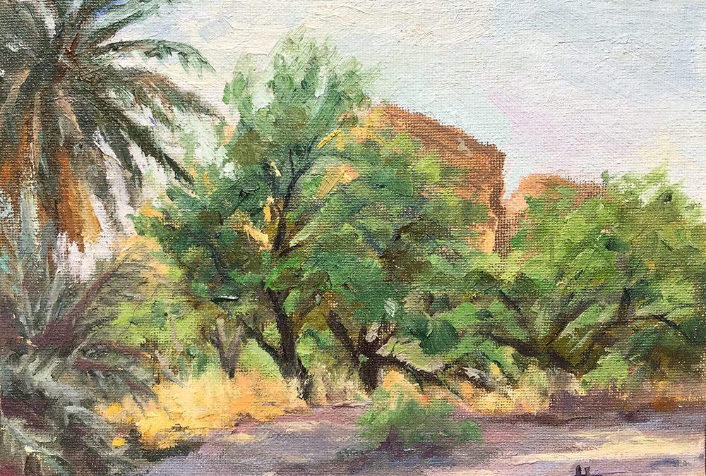 Oasis in the Desert by Helen Pruski