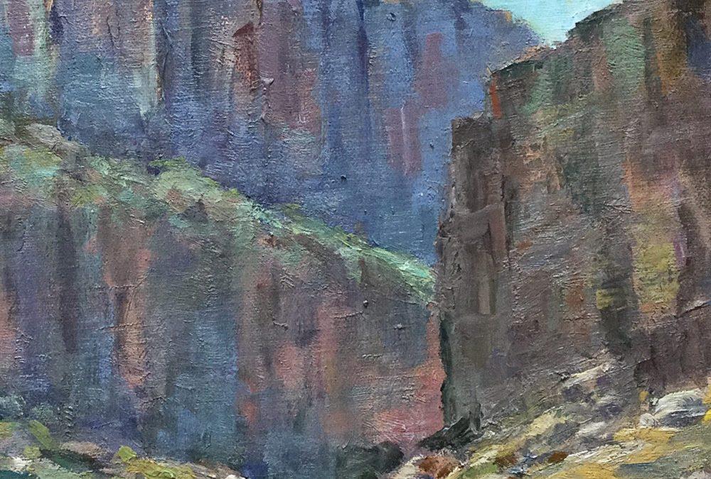 Santa Elena Canyon, Big Bend National Park by Helen Pruski