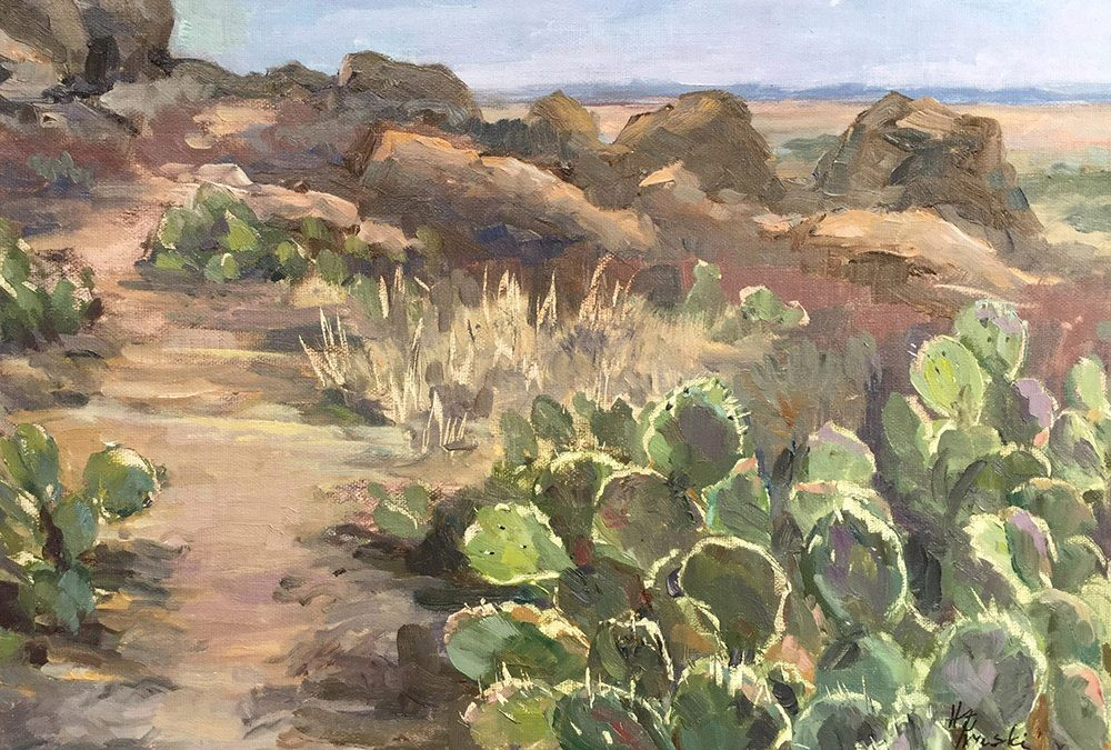 The Prickly Path by Helen Pruski