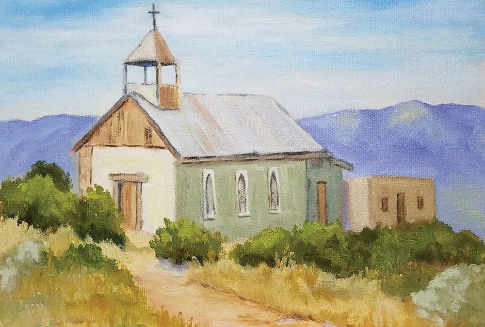 Terlingua Church by Julane Jensen