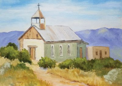 Terlingua Church by Julane Jensen