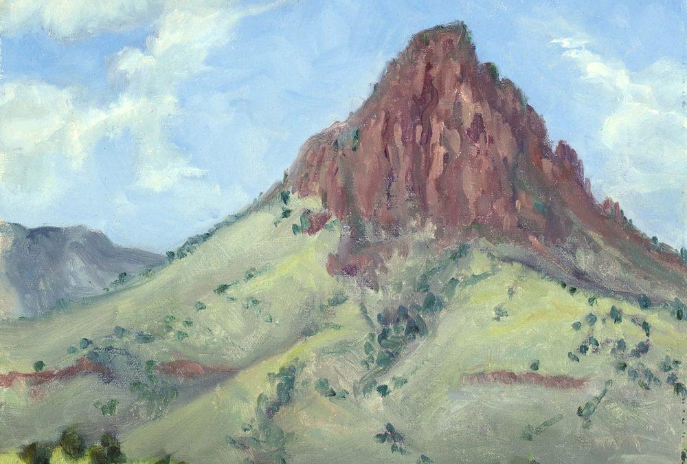 Morning Sun Mitre Peak by KK Walling