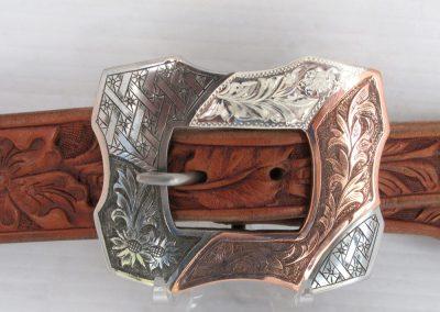 Steel Harness-style Buckle by Buddy Knight