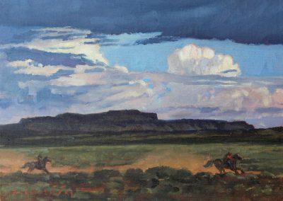 East of Cimarron by Dennis Ziemienski