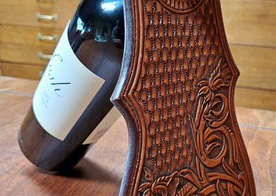 Wine Bottle Holder by Doug Krause