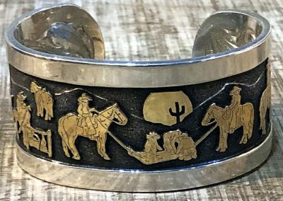 Round Up Bracelet by Rick McCumber