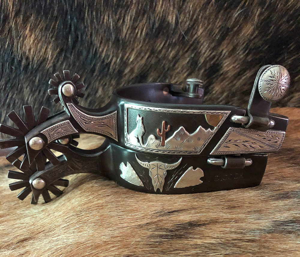Mankato Style Spur Strap Buckles on Custom Straps by Baru Forrel