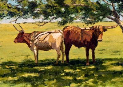 Afternoon Shade in Texas by Janet Broussard