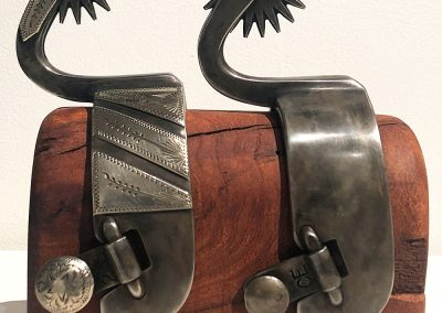 Marfa-style Spurs 2 by Cotton Elliot