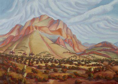 ART 24. Burro Mesa by Alice Leese