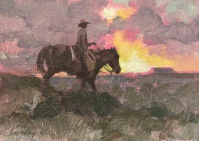 ART 70. Beyond the Sunset by Kim Mackey