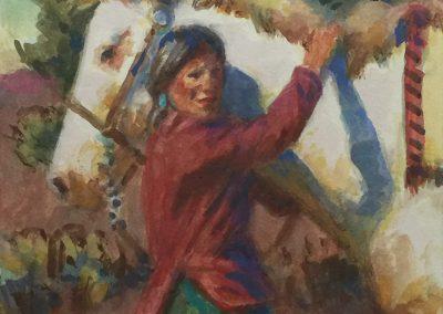 ART 83. The White Wind by Buckeye Blake
