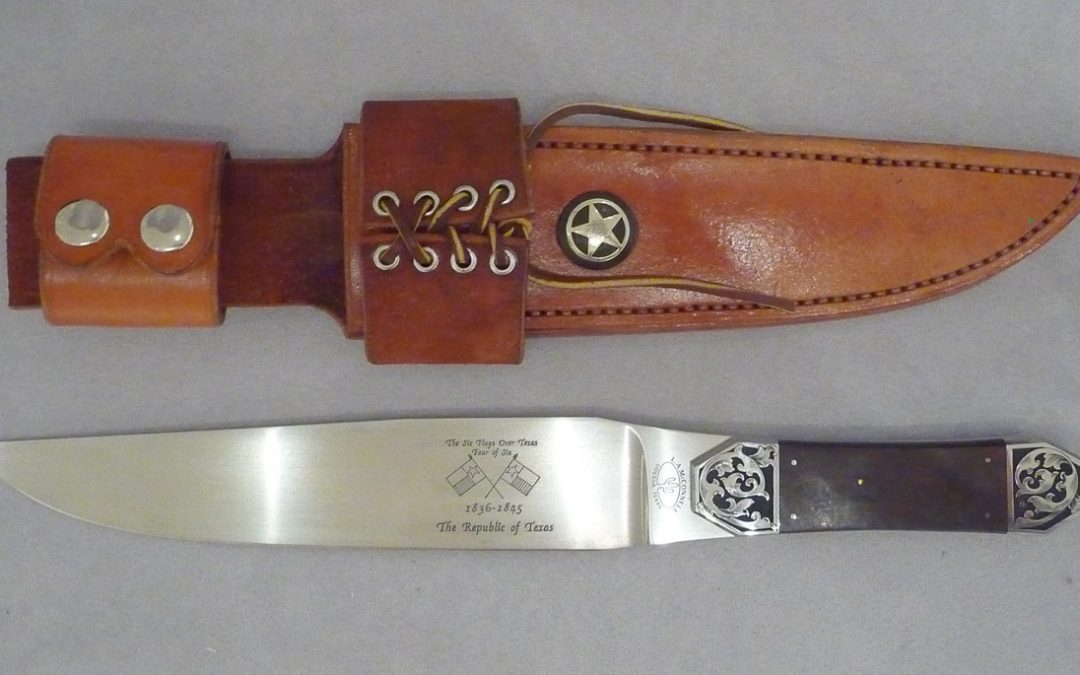 ART 88. Texas Bowie Knife by Loyd McConnell